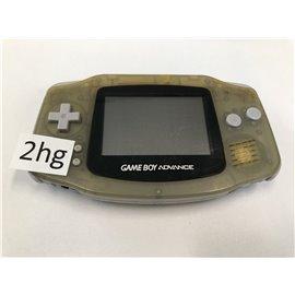 Game Boy Advance Transparant (zonder klepje, verkleurd)