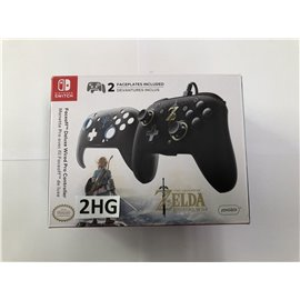 Faceoff Deluxe Wired Pro Controller Zelda