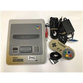 SNES Console incl. Controller (Licht Verkleurd)