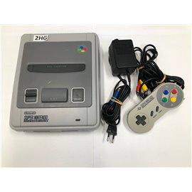 SNES Console incl. Controller (onderkant verkleurd)