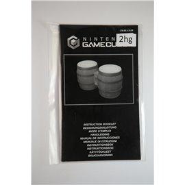 Nintendo Gamecube Konga Instuction Booklet