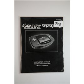 Gameboy Advance Instruction Booklet