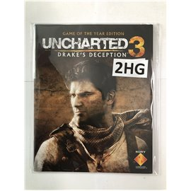 Uncharted 3: Drake's Deception (Game of the Year Edition, Manual)
