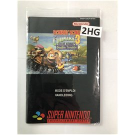 Donkey Kong Country 3: Dixie Kong's Double Trouble (Manual)