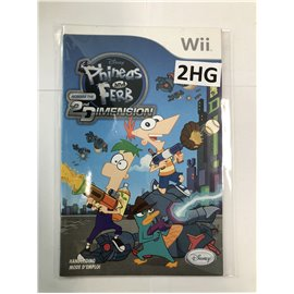 Disney's Phineas And Ferb Across The 2nd Dimension