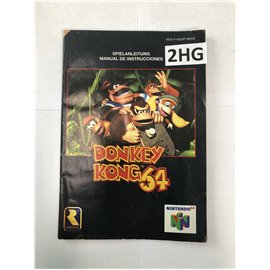 Donkey Kong 64 (Manual, N64)
