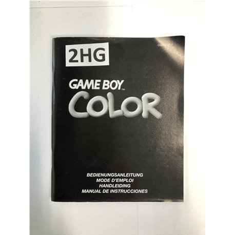 Game Boy Color Handleiding