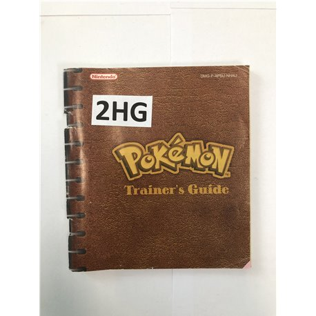 Pokémon Trainer's Guide Red, Blue & Yellow
