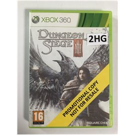Dungeon Siege III Promotional Copy