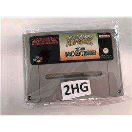Super Mario All-Stars & Super Mario World (losse cassette)