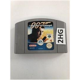James Bond 007: The World is not Enough (losse cassette)