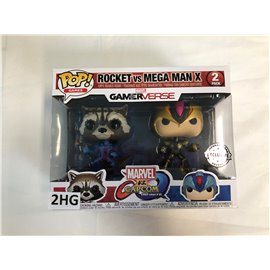 Funko Pop Marvel Gamerverse: Rocket vs. Mega Man X