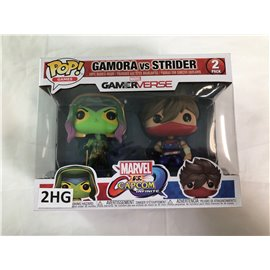 Funko Games Marvel Gamerverse: Gamora vs. Strider