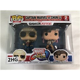 Funko Pop Gamerverse: Captain Marvel vs. Chun-Li