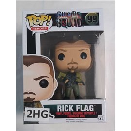 Funko Pop Suicide Squat: 099 Rick Flag