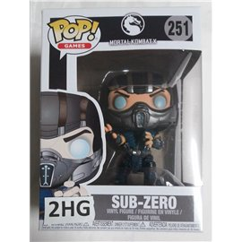 Funko Pop Mortal Kombat X: 251 Sub-Zero