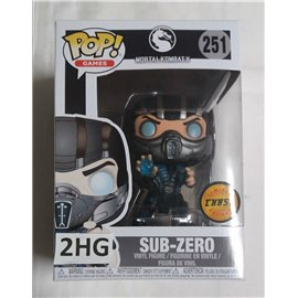 Funko Pop Mortal Kombat X: 251 Sub-Zero Limited Chase Edition