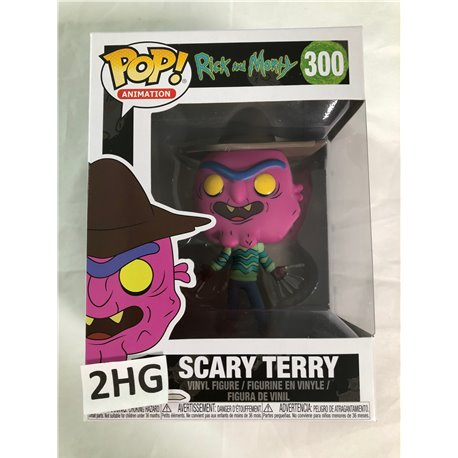 Funko Pop Rick and Morty: 300 Scary Terry