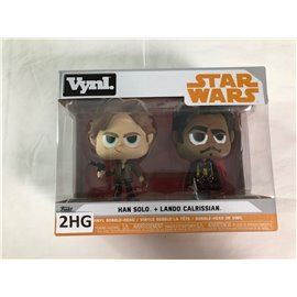 Funko Pop Star Wars: Han Solo + Lado Calrissian