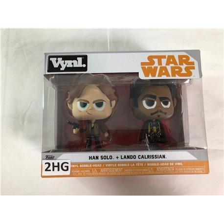 Funko Pop Star Wars: Han Solo + Lado Calrissian