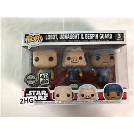Funko Pop Star Wars: Lobot, Ugnaught & Bespin Guard