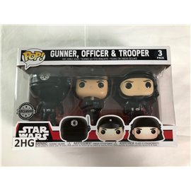 Funko Pop Star Wars: Gunner, Officer & Trooper