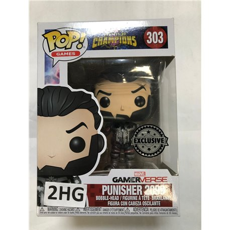 Funko Pop Marvel Contest of Champions: 303 Punisher 2099