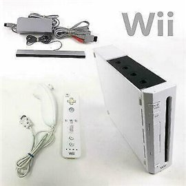 Wii Console Wit in Doos