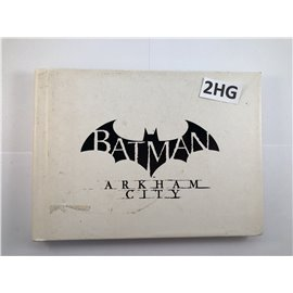 Batman Arkham City Collectible Artbook + Game