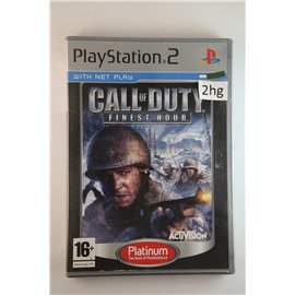 Call of Duty: Finest Hour (Platinum, CIB)