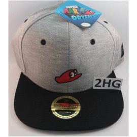 Super Mario Odyssey Cap Grey