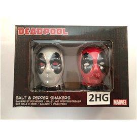 Marvel Deadpool Salt & Pepper Shakers