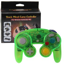 Gamecube Controller Crystal Green (new)