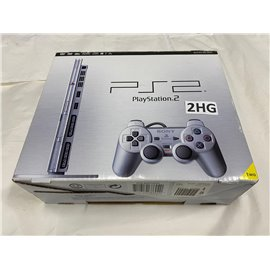 Playstation 2 Console Slim Zilver Boxed