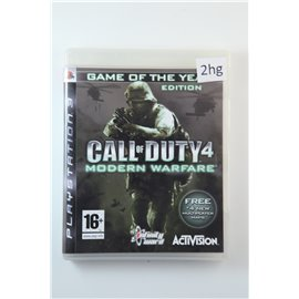 Call of Duty Modern Warfare Game of the Year Edition