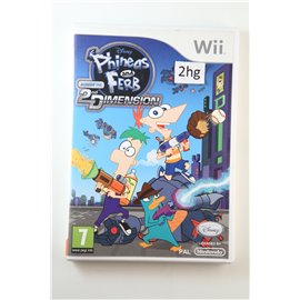 Disney's Phineas and Ferb 2D Dimension