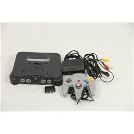 N64 Zwart incl. Controller