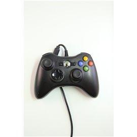 Xbox 360 Controller Zwart met Draad