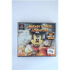 Mickey's Wild Adventure + Free Music CD
