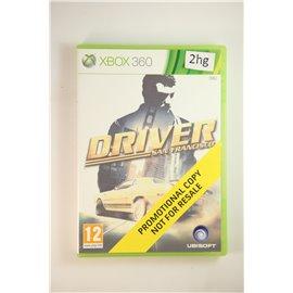 Driver San Francisco Promotional Copy