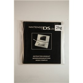 Nintendo Ds Lite Instruction Booklet