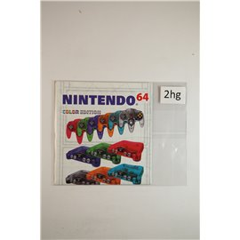 Nintendo 64 Color Edition