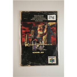 Killer Instinct Gold (Manual, N64)