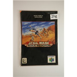 Star Wars Roque Squadron (Manual, N64)