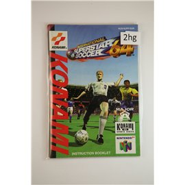 International Superstar Soccer 64 (Manual, N64)