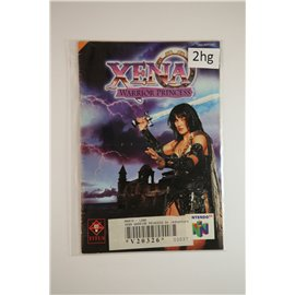 Xena Warrior Princess (Manual, N64)