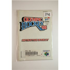 Olympic Hockey '98 (Manual, N64)