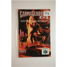 Carmageddon 64 (Manual, N64)