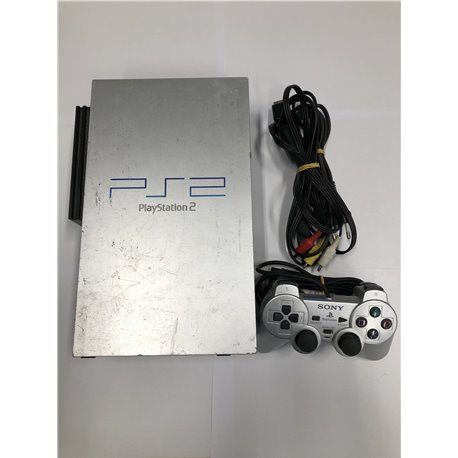 Playstation 2 Phat Zilver incl. Controller