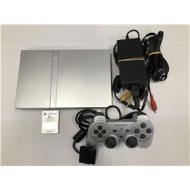 Playstation 2 Slim Zilver incl. Controller